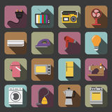 Home appliances icon Royalty Free Stock Images