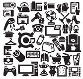 Home  appliances icons Royalty Free Stock Photos