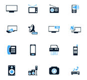 Home appliances icons set Royalty Free Stock Photography