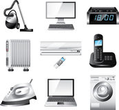 Home appliances  set Royalty Free Stock Photo