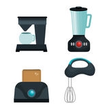 Home appliances tech icon Stock Photography