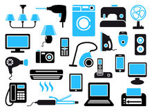 Home appliances Royalty Free Stock Images