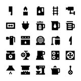 Home Appliances Vector Icons 6 Stock Image