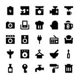 Home Appliances Vector Icons 2 Stock Images