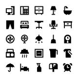 Home Appliances Vector Icons 3 Royalty Free Stock Images