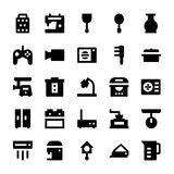 Home Appliances Vector Icons 7 Royalty Free Stock Photography