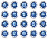 Home appliances web icons Stock Photo