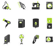 Home applicances simply icons Stock Photography