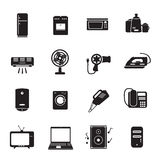 Home applience icons set. Eps10 Stock Photography