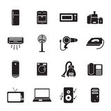 Home applience icons set Royalty Free Stock Photos