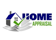 Home appraisal icon Stock Images