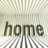 Home architecture interior, modern design Royalty Free Stock Photo