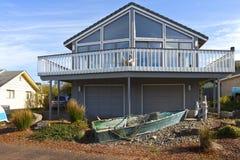 Home architecture in Lincoln City Oregon. Stock Photo