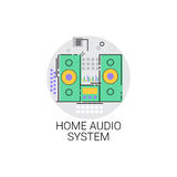 Home Audio System Sound Devices Icon Stock Photos