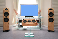 Home audio and video equipment Stock Photos