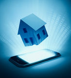 Home automation background Stock Image