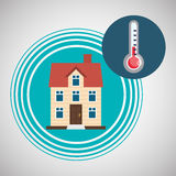 Home automation design. smart house icon. house concept, vector illustration Stock Photography