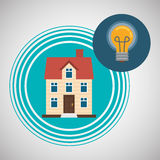 Home automation design. smart house icon. house concept, vector illustration Stock Images