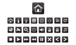 Home automation,Smart home icon set Stock Photo
