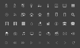Home automation,Smart home icon set Stock Photography