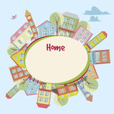 Home background Royalty Free Stock Image
