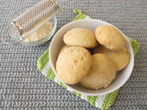 Home baked cheese rolls Stock Photography