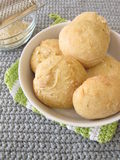 Home baked cheese rolls Stock Photos