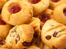 Home baked cookies Royalty Free Stock Photos