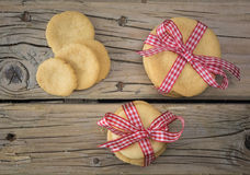Home baked cookies Stock Photography