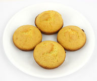 Home baked corn muffins Stock Photos