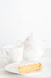 Home baked honey cake. Royalty Free Stock Images