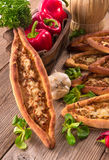 Home-baked pide Royalty Free Stock Photography