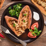 Home-baked pide Royalty Free Stock Photos