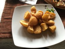 Home baked potatoes