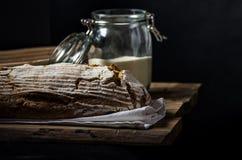 Home-baked sourdough bread Stock Photos