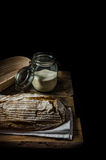 Home-baked sourdough bread Royalty Free Stock Image