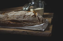 Home-baked sourdough bread Royalty Free Stock Photography