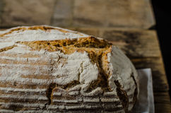 Home-baked sourdough bread Royalty Free Stock Images