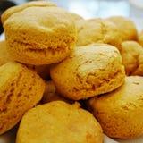Home baked sweet potato scones Stock Photo