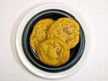 Home Baked Toffee Cookies Royalty Free Stock Image