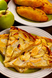 Home baking with apples Royalty Free Stock Photography