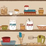 Home baking Royalty Free Stock Images