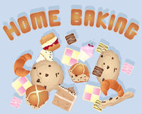 Home baking Royalty Free Stock Image