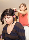 The home barber Stock Photos