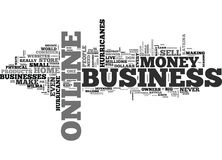 A Home Based Business Even Hurricanes Cannot Destroy Word Cloud Royalty Free Stock Photography