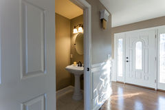 Home Bathroom Entryway Interior Stock Photos