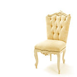 Luxurious armchair. Home beautiful luxurious armchair Stock Photography