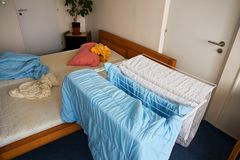 Home bedding Royalty Free Stock Photography