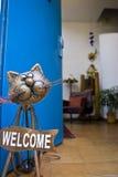 HOME bem-vinda Foto de Stock