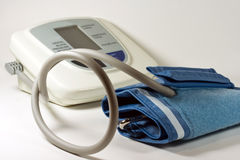 Home Blood Pressure Monitor Royalty Free Stock Photo